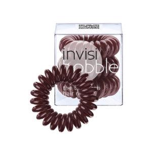 Резинка-браслет для волос Invisibobble Chocolate Brown, 3 шт